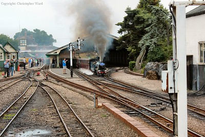 Hurricane hurries through New Romney with a non-stop service to Hythe