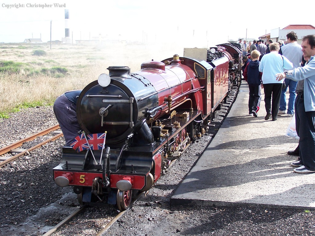 Hercules and Winston Churchill at Dungeness