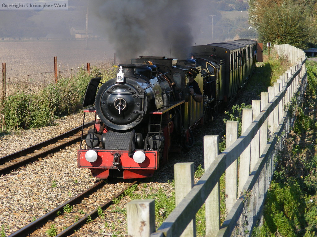 Black Prince leads Samson with a Dungeness train
