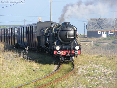 Southern Maid and Northern Chief arrive at Dungeness
