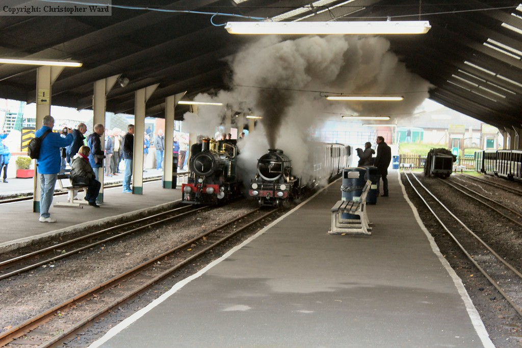 Southern Maid brings a non-stop train through New Romney