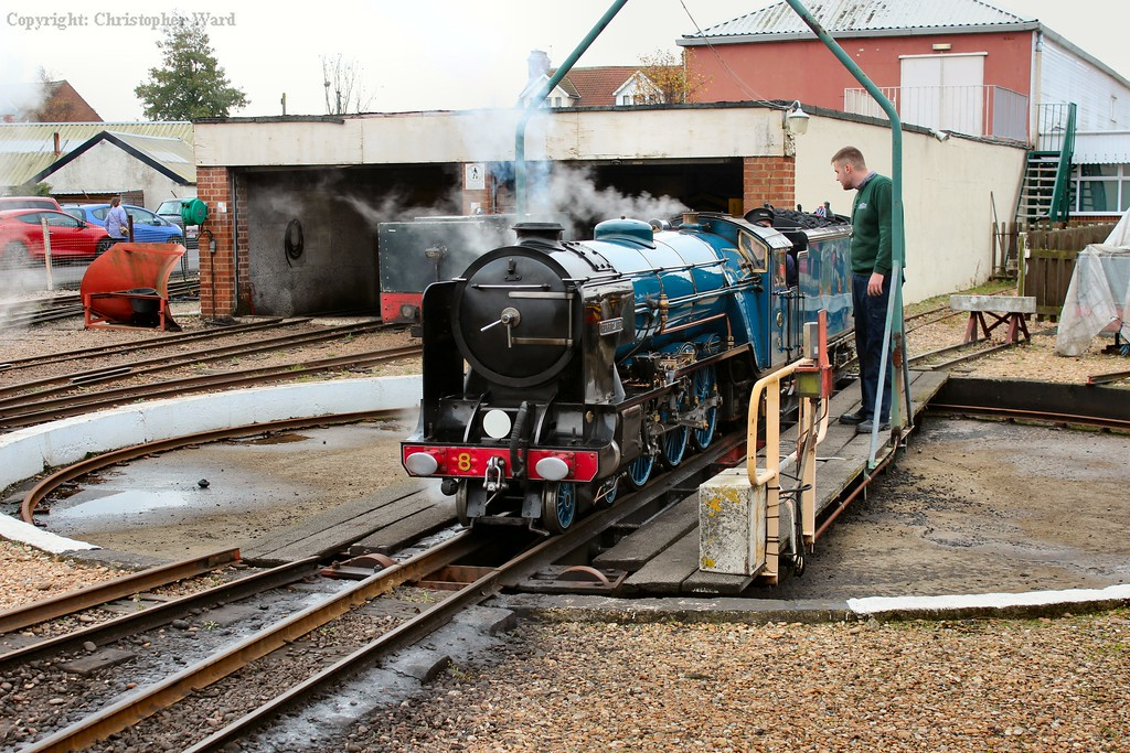 Hurricane is turned ready for a run to Hythe