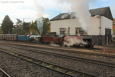 Hercules and Hurricane team up for a run to Hythe