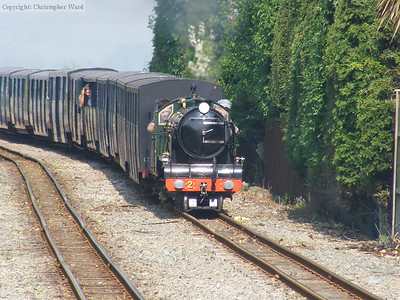 Northern Chief with a westbound working