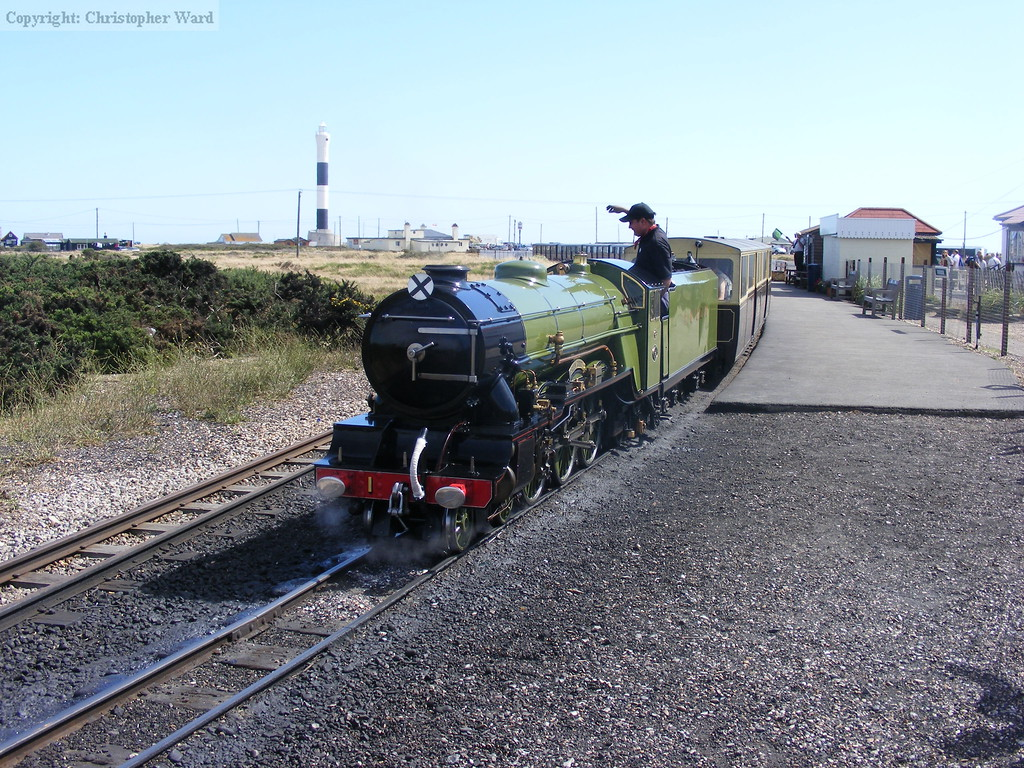 Right away at Dungeness