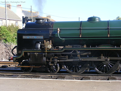 Northern Chief sits at Dymchurch