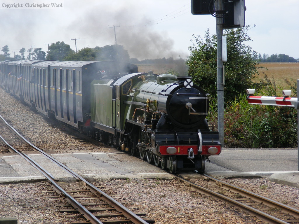 Green Goddess on the way to Hythe