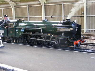 Northern Chief sits at New Romney