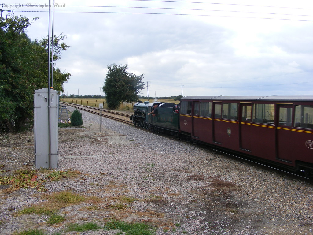 Southern Maid heads for Dymchurch
