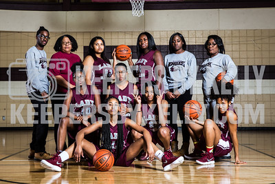 Romulus Womens Basketball Team FI