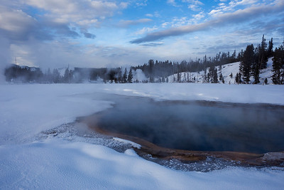 Winter Hot Spring