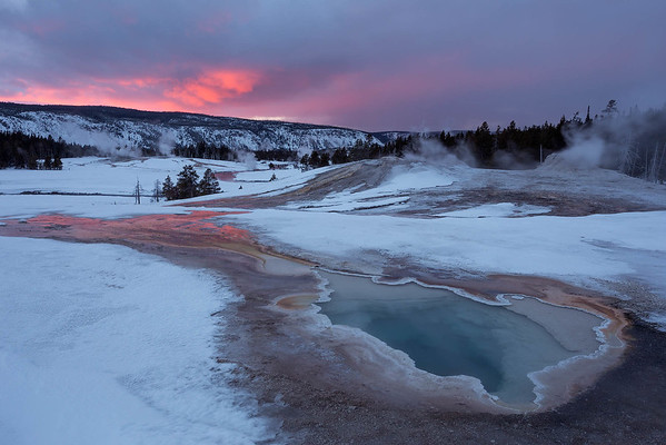 Geothermal Sunset