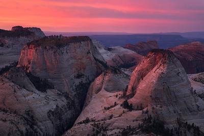 West Rim Sunrise