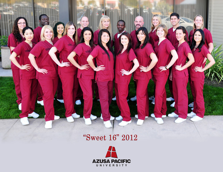 Azusa Nursing Class-sweet-16