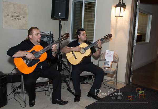 Gipsy Menco performs at BonitaView Home open house