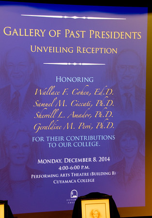 Cuyamaca College Past Presidents Reception