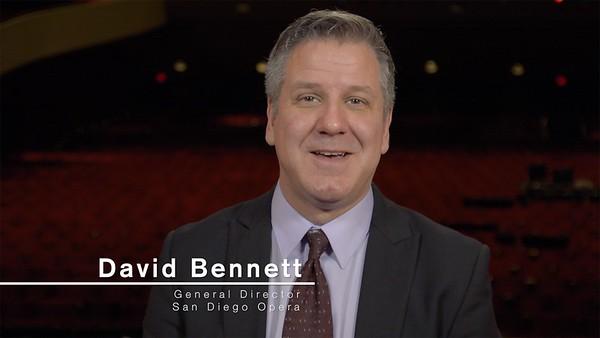David Bennett - General Director San Diego Opera