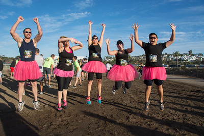Del Mar Mud Run 2014 Team #hotmess