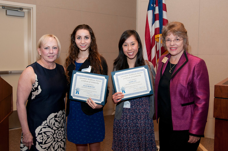 Grossmont Healthcare District Scholarships 2012_1420