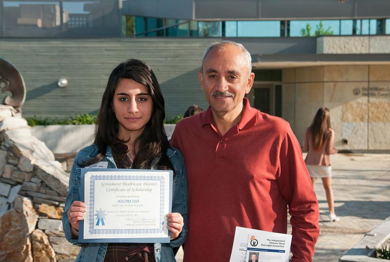 Grossmont Healthcare District Scholarships 2012_1468