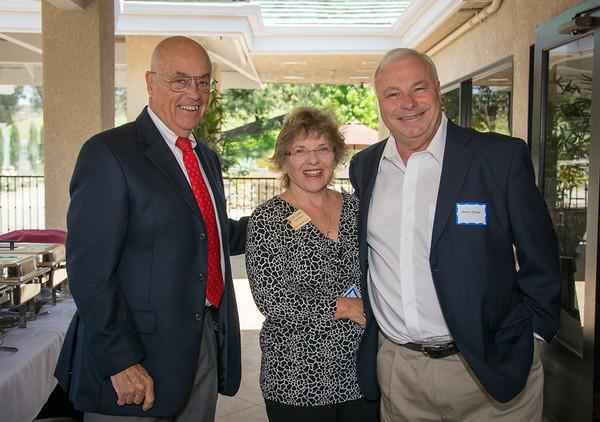 Allen Brown, Gloria Chadwick and Jerry Fazio