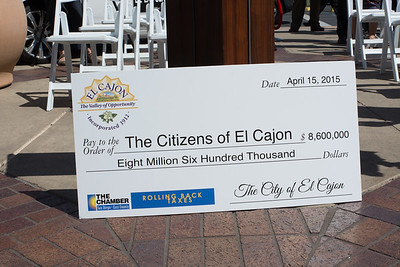 El Cajon Tax Roll Back Day at Parkway Plaza
