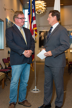 Randy Lenac Sworn In as Grossmont Healthcare District Board Member