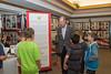 Dan Foster and local school kids remembering California's fallen.
