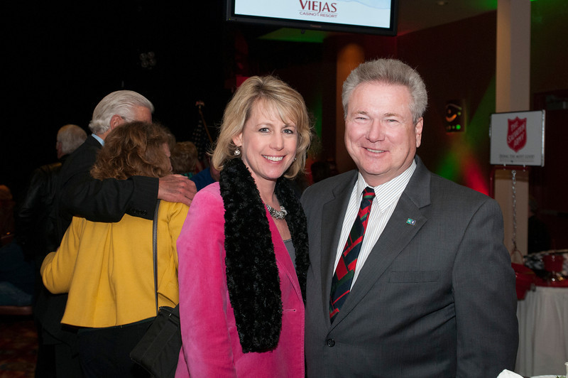 Karen Cook and Ernie Ewin