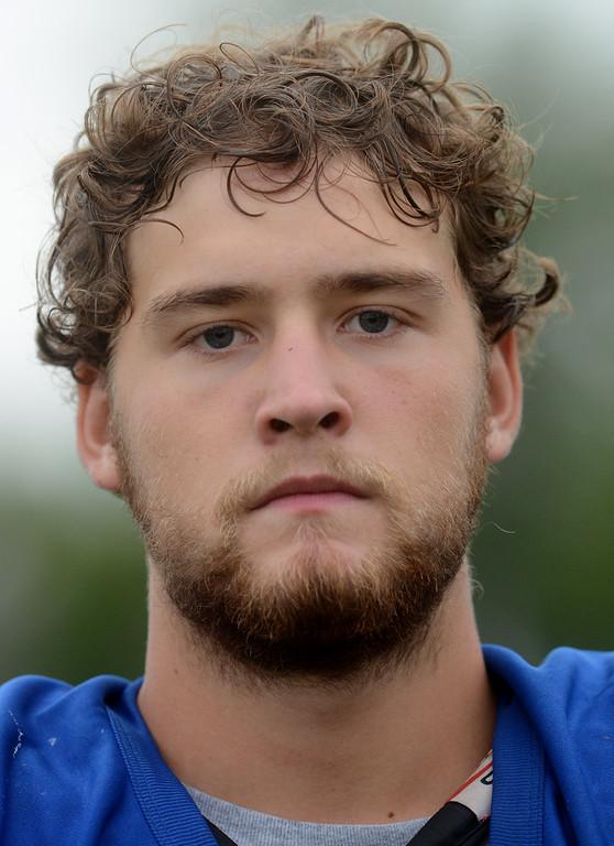 . Tania Barricklo-Daiily Freeman Kyle van Laer middle line wide receiver