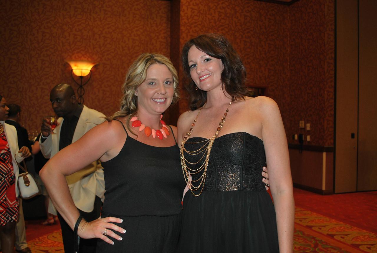 Barb Macken and Amy Cotham