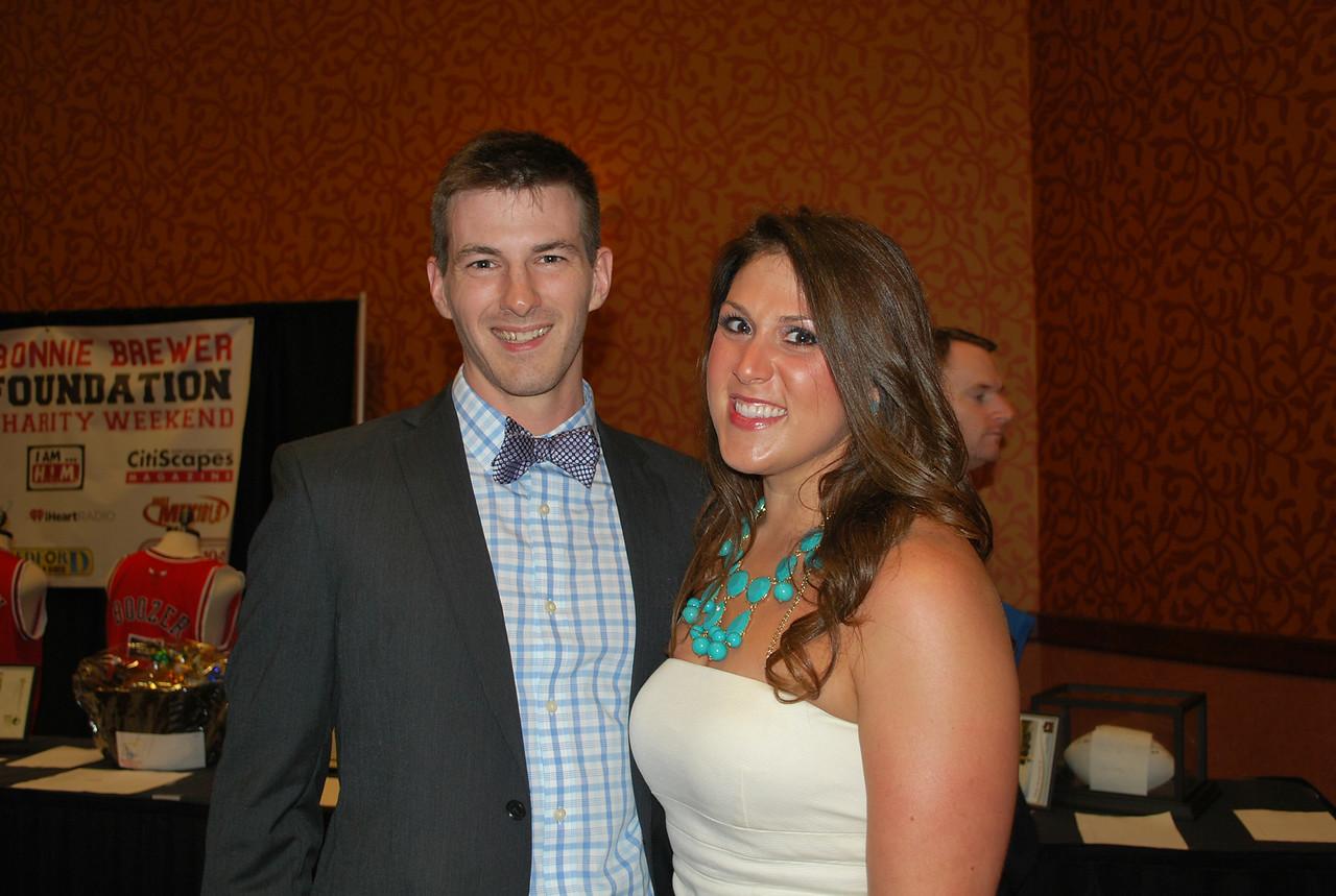 Coy Stevens and Tori Burden