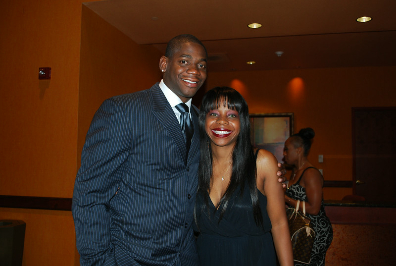 Ronnie Brewer and Candace Graham