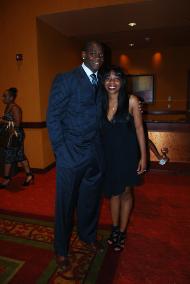 Ronnie Brewer and Candace Graham_