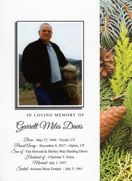 2017-12-13 Garrett Davis Funeral & Burial_0001 - Program