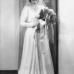 1939 Velva in her Wedding Dress