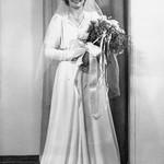 1939 Velva in her Wedding Dress