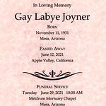 2021-06-29 Gay Joyner Funeral Service Program_0002
