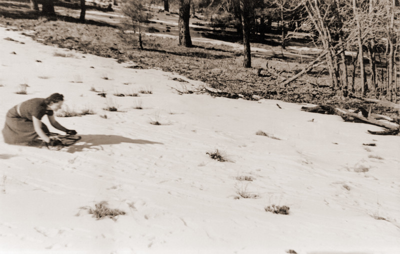 Mona Sledding Repaired by Man