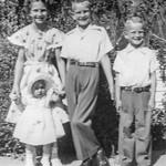 1950 Charlotte, Nollie, Ron & Victoria on Easter_0005 (Adjusted)