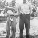 1943-06 Grandpa Carl & Norris with Nollie on Father's Day_0010 (Adjusted)