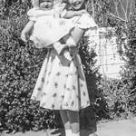 1950 Charlotte & Victoria on Easter_0001 (Adjusted)