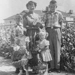 1953 Charlotte, Nollie, Ron, Victoria & Tamara on Easter_0010 (Adjusted)