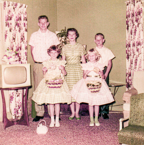 1957 Charlotte, Norris, Ron, Victoria & Tamara on Easter_0001_a-EIP (Adjusted)