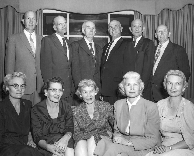 1957 Willard, Nate, Richard, Dan, Jess, Alfonzo, May, Fern, Frona, Beulah & Velva