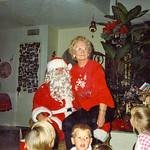 1980c Velva with Santa Claus