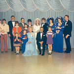 1972-01 Tami's Wedding -- Norris, Velva & Family