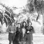 1937-01 Velva, Virginia, Mollie, Nadine & Ruth