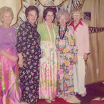 1981c Velva, May, Fern, Frona & Beulah