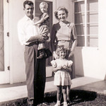 1944c Norris, Velva, Charlotte & Nollie_0001 - Day Norris Went into the Navy (Adjusted)-2